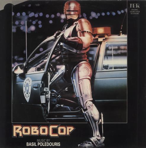 Original Soundtrack Robocop - VG/EX vinyl LP album (LP record) UK OSTLPRO725518
