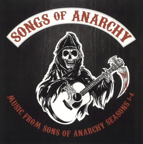Original Soundtrack Songs of Anarchy: Music From Sons of Anarchy Seasons 1-4 - Clear vinyl 2-LP vinyl record set (Double Album) US OST2LSO726157