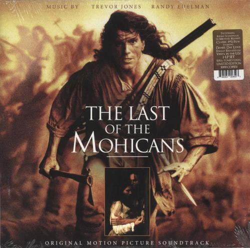 Original Soundtrack The Last Of The Mohicans - Sepia-Toned Vinyl 2-LP vinyl record set (Double Album) US OST2LTH730388