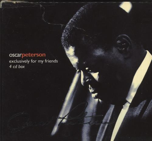 Oscar Peterson Exclusively For My Friends 4-CD album set German OP14CEX550398
