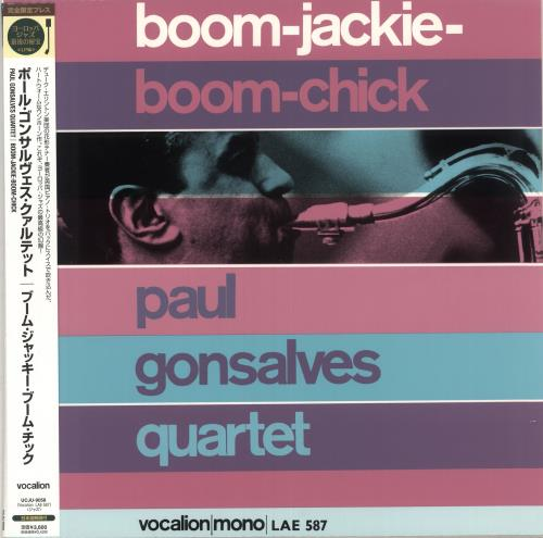 Paul Gonsalves Boom-Jackie-Boom-Chick - 200gm vinyl LP album (LP record) Japanese PGNLPBO475170
