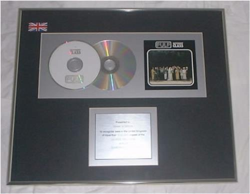 Pulp Different Class in-house award disc UK PULAIDI193667