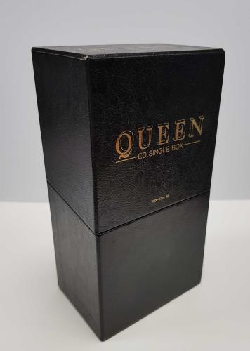 Queen CD Single Box box set Japanese QUEBXCD02040