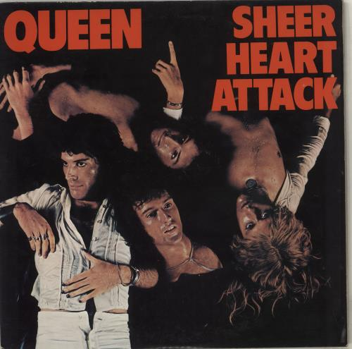 Image result for queen sheer heart attack album cover photo