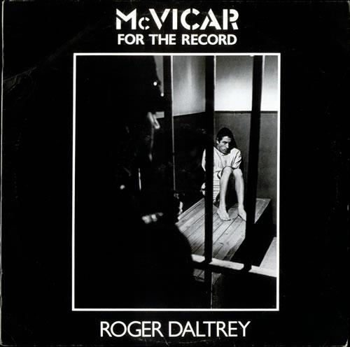 Roger Daltrey McVicar - For The Record vinyl LP album (LP record) UK RGDLPMC520512