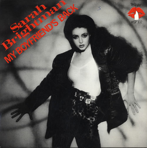 Sarah Brightman My Boyfriends Back UK 7 Vinyl Single 7 Inch Record 107160