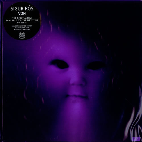 Sigur Ros Von 2-LP vinyl record set (Double Album) UK SIU2LVO461997