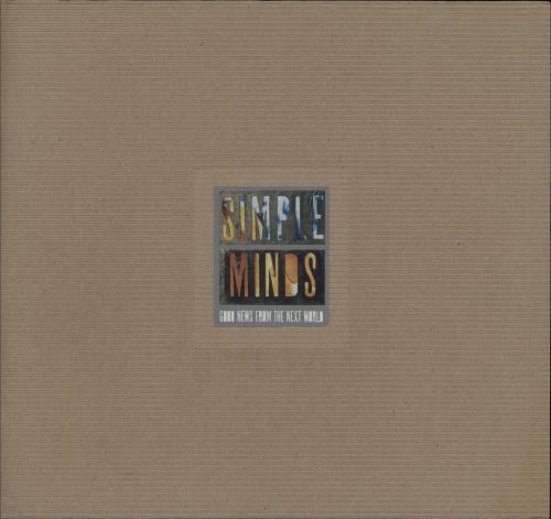 Simple Minds Good News From The Next World + Flyer + Stub tour programme UK SIMTRGO751871