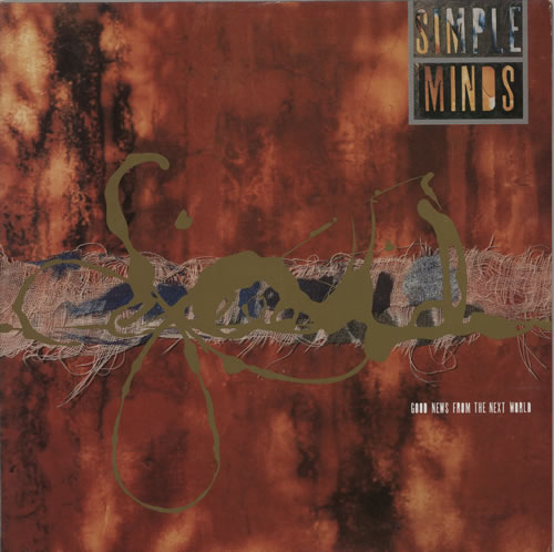 Simple Minds Good News From The Next World vinyl LP album (LP record) UK SIMLPGO48752