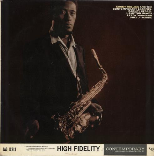 Sonny Rollins Sonny Rollins And The Contemporary Leaders vinyl LP album (LP record) UK SOZLPSO649226