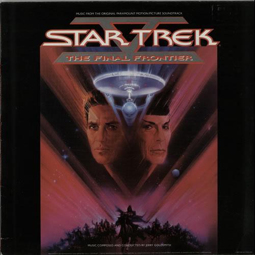 Star Trek V: The Final Frontier vinyl LP album (LP record) UK REKLPVT640494