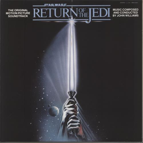 Star Wars Return of The Jedi - Gold Vinyl vinyl LP album (LP record) UK WRSLPRE736555