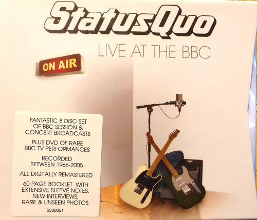Status Quo Live At The BBC - Sealed 2-disc CD/DVD set UK QUO2DLI742480
