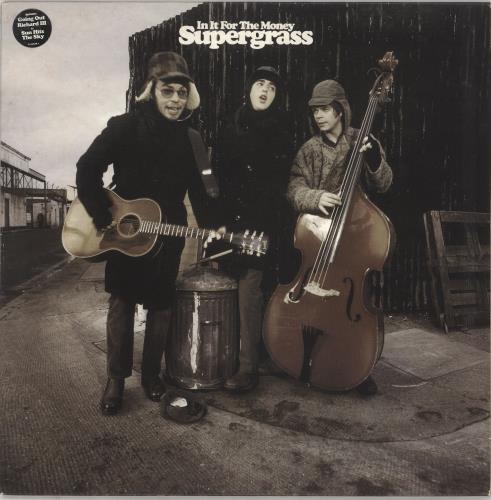 Supergrass In It For The Money - EX vinyl LP album (LP record) UK SGSLPIN733240