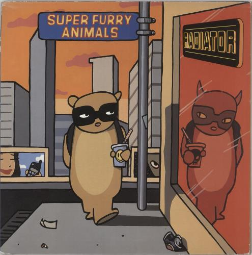 Super Furry Animals Radiator 2-LP vinyl record set (Double Album) UK SFA2LRA319451