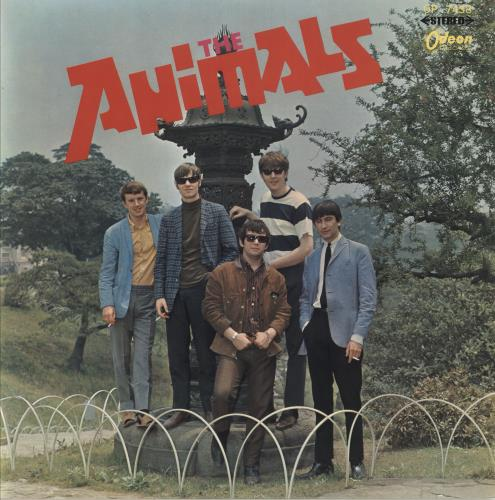 The Animals The Animals - Red Vinyl vinyl LP album (LP record) Japanese ANMLPTH123930