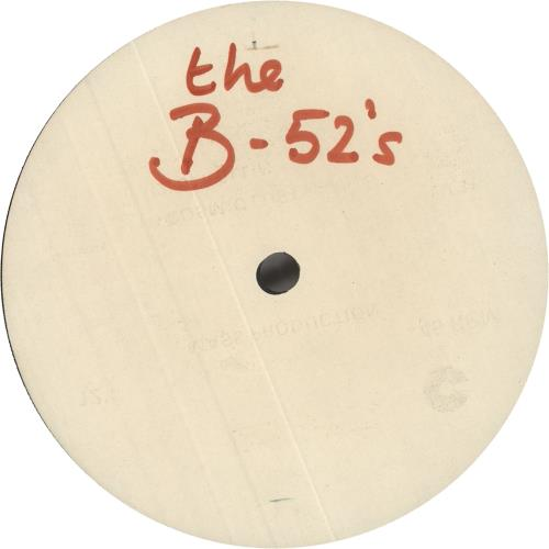 "The B-52's The B-52's - White Label Album Sampler 12"" vinyl single (12 inch record / Maxi-single) UK B5212TH746843"