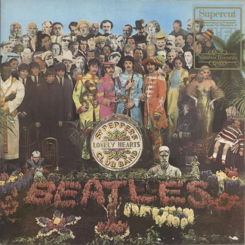 The Beatles Sgt. Pepper's - Nimbus vinyl LP album (LP record) UK BTLLPSG227410