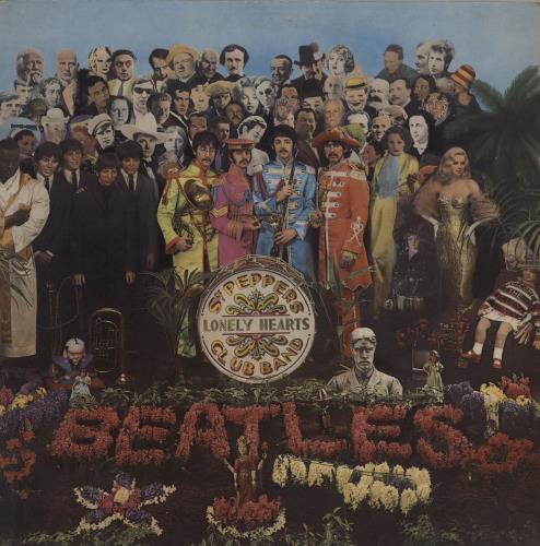 The Beatles Sgt. Pepper's - One Box - TOL vinyl LP album (LP record) UK BTLLPSG606334