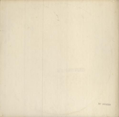 The Beatles The Beatles [White Album] - 1st (b) - VG vinyl LP album (LP record) UK BTLLPTH720061