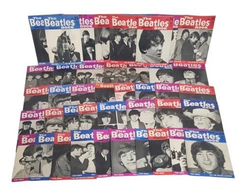 The Beatles The Beatles Book - 1st - 35 Issues magazine UK BTLMATH734204