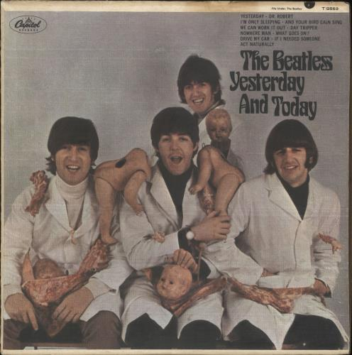 The Beatles Yesterday And Today - 3rd State - Mono - VG+ vinyl LP album (LP record) US BTLLPYE682168