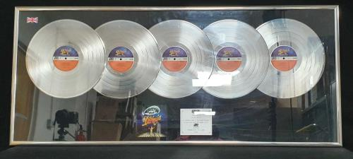 The Darkness Permission To Land - Multi-Platinum award disc UK D/KAWPE723809