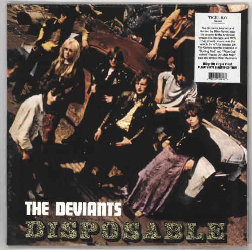 The Deviants Disposable - 180gm Clear Vinyl - Sealed vinyl LP album (LP record) UK DVTLPDI734422