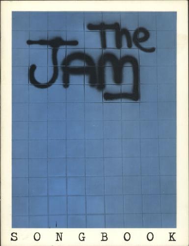 The Jam In The City Songbook book UK JAMBKIN720415