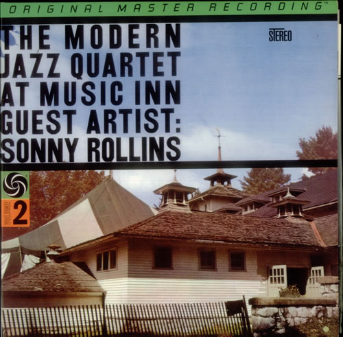 The Modern Jazz Quartet At Music Inn Volume 2 - 200gm vinyl LP album (LP record) Japanese MJQLPTH549032