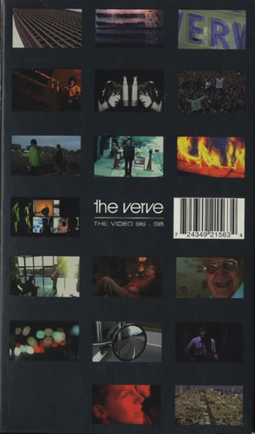 Poster do filme The Verve: The Video 96 - 98