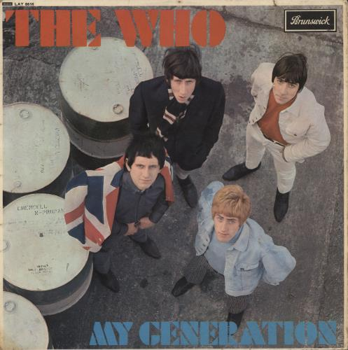 The Who My Generation - VG vinyl LP album (LP record) UK WHOLPMY575380