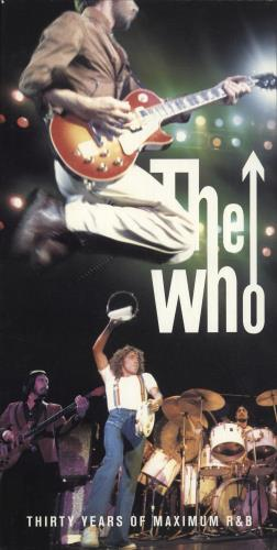 The Who Thirty Years Of Maximum R&B - EX CD Album Box Set UK WHODXTH696843
