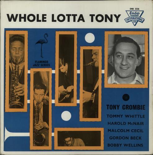 Tony Crombie Whole Lotta Tony vinyl LP album (LP record) UK UQ9LPWH677502