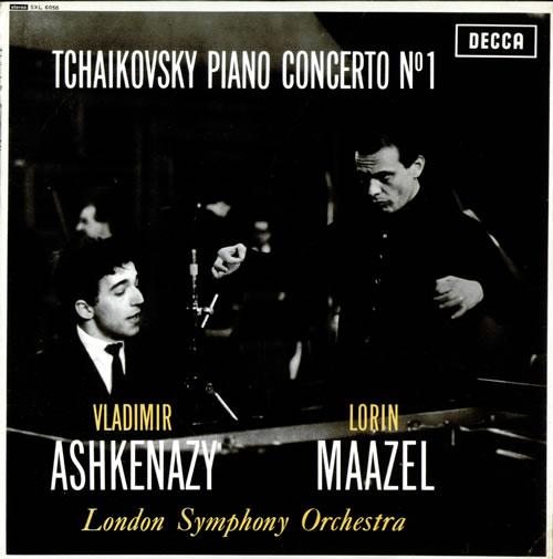 Vladimir Ashkenazy Tchaikovsky: Piano Concerto No. 1 - WBg UK ...