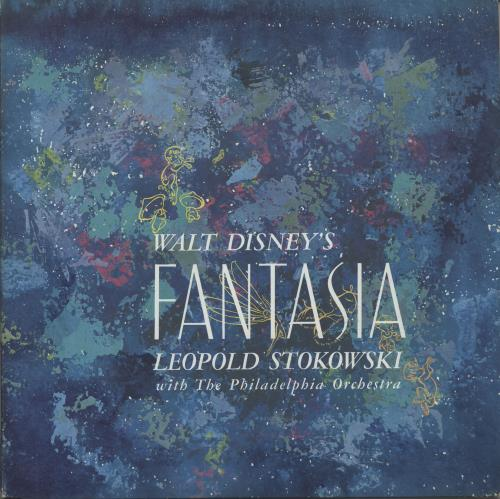 Walt Disney Walt Disney's Fantasia 3-LP vinyl record set (Triple Album) US W-D3LWA681757