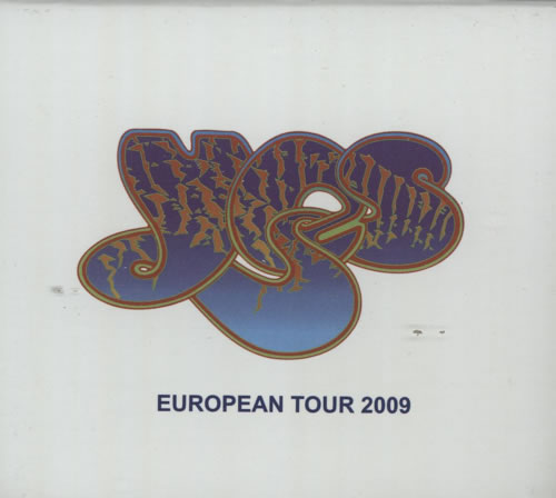 Yes European Tour 2009 - Birmingham 16th November CD-ROM UK YESROEU621377