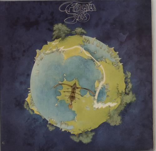 Yes Fragile vinyl LP album (LP record) German YESLPFR291056