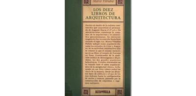 'La Arquitectura de Vitrubio' traducción de Joseph Ortiz y Sanz. Facsímil editado por Alta Fulla
