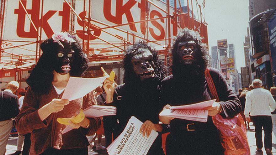 Guerrilla Girls on tour