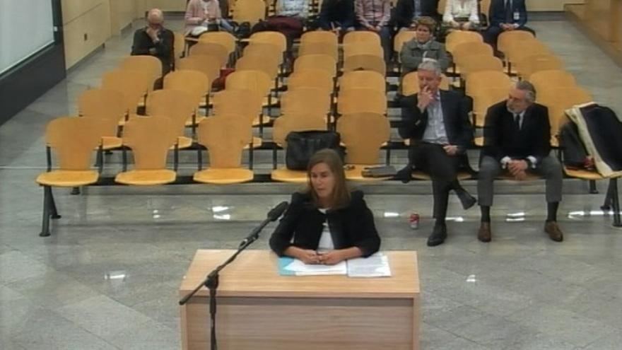 Ana Mato, en el juicio de Gürtel