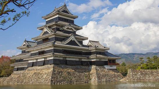 El Castillo de Matsumoto en Japón