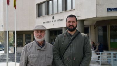 José Manuel Nogales y Rubén Ranz. FOTO: UGT