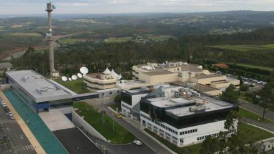 Sede de la CRTVG en Santiago de Compostela