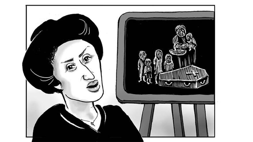 Viñeta Rosa Luxemburgo