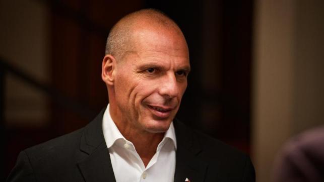 El ex ministro griego de Finanzas Yanis Varoufakis