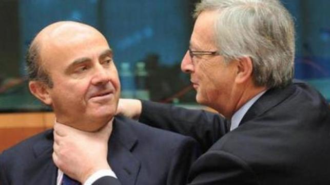 Luis De Guindos y Jean Claude Juncker, no era animadversión sino camaradería