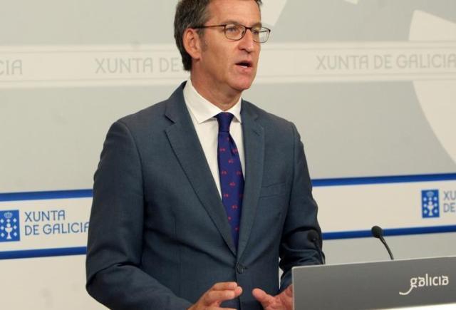 """Feijóo asegura que él hubiera dimitido con el resultado de Sánchez y reitera que """"apoyará"""" a Rajoy porque """"ha ganado"""""""