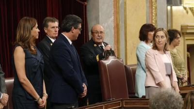 Pastor y la Mesa del Congreso se estrenan con juramento o promesa del cargo