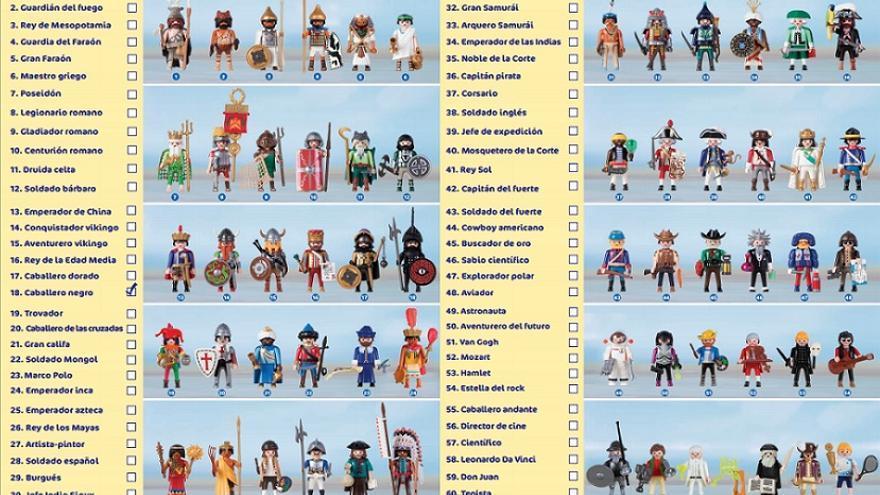 Colección Playmobil y Planeta DeAgostini